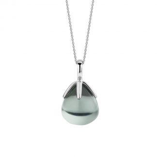 TI SENTO - Milano Hanger 6762GG - gerhodineerd zilver