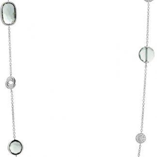 TI SENTO - Milano Collier 3908GG - gerhodineerd zilver