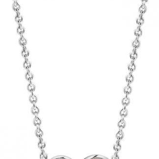 TI SENTO - Milano Collier 3909PW - gerhodineerd zilver