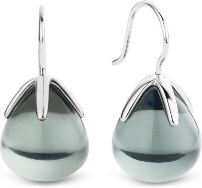 TI SENTO - Milano Oorbellen 7769GG - gerhodineerd zilver
