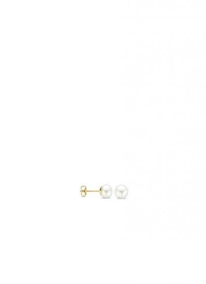 Blush Oorbellen 7137YPW - Geel Goud (14Krt.) met Zoetwater Parel