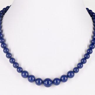 KAYEE - Parelketting van Swarovski parels - lapis lazuli - 45cm