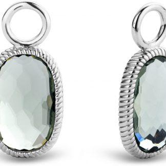 TI SENTO - Milano Oorbedels 9199GG - gerhodineerd zilver